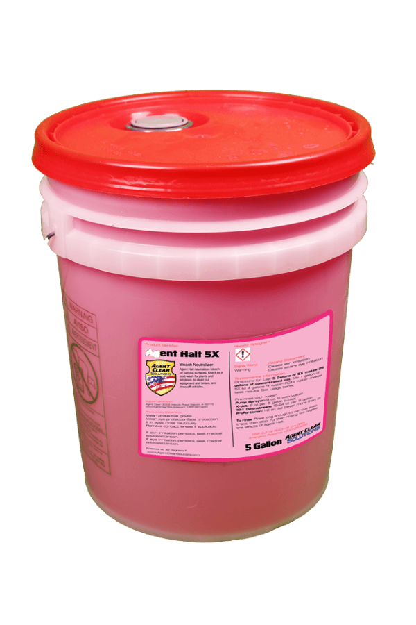 Fast Shipping Agent Halt 5x Concentrate - 5 Gallon Bucket for Sale Online