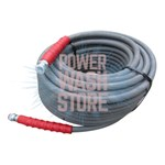 Dragon Flex 100 ft. Gray 4000PSI 1 Wire Hose #8439