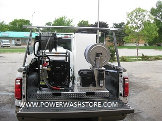 High Pressure and Soft Wash 7.5gpm @ 3000psi Skid #WDS7530C for Sale Online