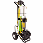 hydro cart with battery pump