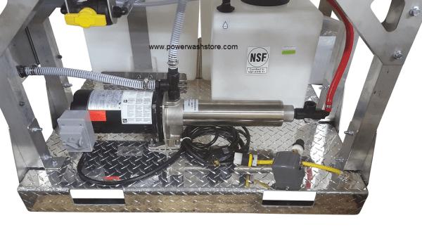 115v Booster Pump Complete Skid W Proportioner 5455bs