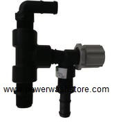 softwash systems throttle valve assembly