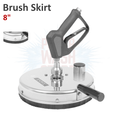 Mosmatic Graffiti Remover w Brush Skirt 8 inches