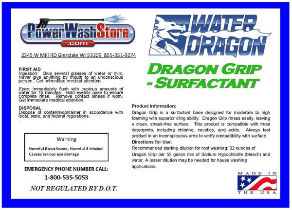 Water Dragon - Dragon Snot Detergent