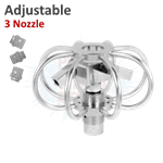 Mosmatic Adjustable 3 Nozzle Duct Cleaner