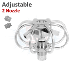 Mosmatic Adjustable 2 Nozzle Duct Cleaner
