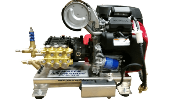 cold water pressure washer engine