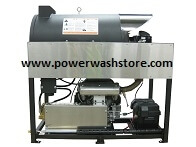 Gas Hot Water Power Washer Skid